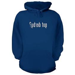 BH Cool Designs got Derby? - Graphic Hoodie Sweatshirt, Blue