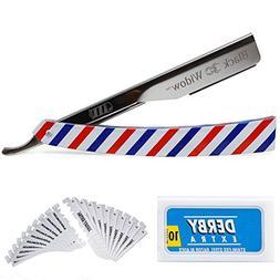 Barber Straight Razor Kit - Durable Barber Straight Edge Raz