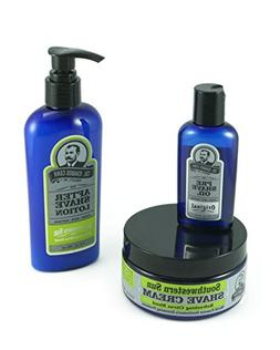 Colonel Conk All Natural 3 Step Shaving Kit - Shaving Cream,