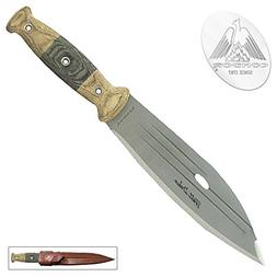 Condor Tool & Knife, Primitive Bush Knife, 8in Blade, Micart
