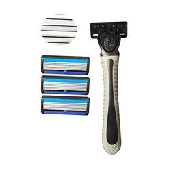 Disposable Razors for Men 6 Blades Shave for Sensitive Skin