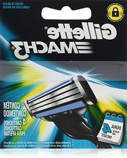 Gíllette Mach 3 Razor Refill Cartridges, 16 Count