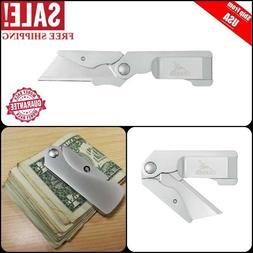 Gerber Cutter Outdoor Work Tool Safety Folding Pocket Knife
