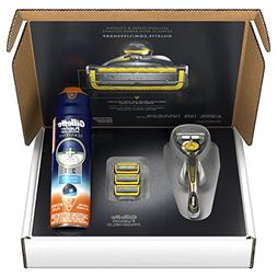 Gillette Fusion ProShield Bundle with 1 Razor Handle with Fl