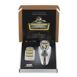 Gillette Fusion ProShield Chill Bundle with 1 Razor with Fle