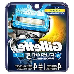Gillette Fusion5 Proshield Chill Razor Blades for Men, 4 Cou
