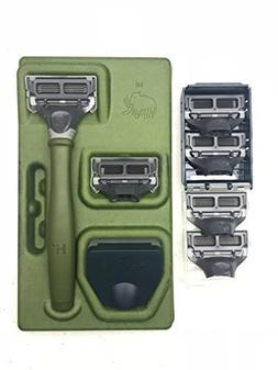 Harrys Mens Razor Set with 6 Razor Blades