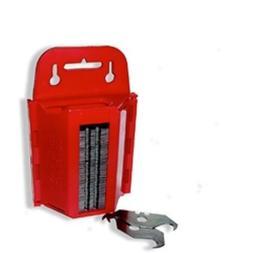 Hook Carpet Shingle Razor Blades 100 Pack with Dispenser Lin