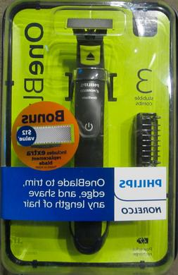 Philips Norelco OneBlade Bonus Pack with FREE Blade, QP2520/