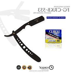Professional Straight Edge Razor |100 Shaving Razor Blade De