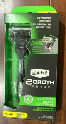 Schick Mens Hydro5 Sense Razor Sensitive 2X