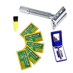 The Original Old Fashion Vincent Double Edge Razor Kit with