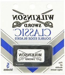 Wilkinson Sword Double Edge single Razor Cartridge, 25 blade