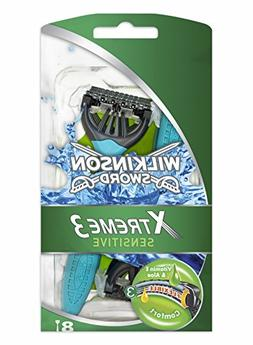 Wilkinson Sword Xtreme 3 Sensitive Men's Disposable Razors -