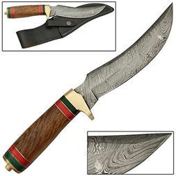Arabian Magi Damascus SteelHunting Knife