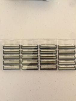 Gillette Atra Plus Refill Razor Blades Lot of 20 Cartridges