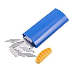 Ehdis Blade Bank Cutter Razor Disposal Case Dispenser Contai