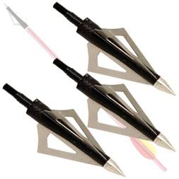 Ace Martial Arts Broadhead Hunting Arrow Head Set 3 Blade