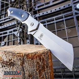 "Wartech Buckshot 8.75"" Fixed Blade Cleaver Knife Forest Hunt"