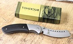 Wartech Buckshot Knives Thumb Open Spring Assisted Cleaver C