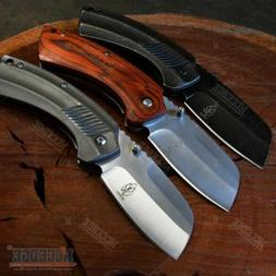 CAMPING HUNTING Assisted Open Pocket Folding Knife BUCKSHOT