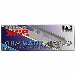 KAI CAPTAIN TITAN MILD BLADE 20 blades jpn