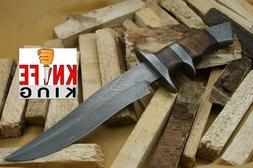"""Knife King """"Emperor"""" Custom Damascus Handmade Hunting Knife."""