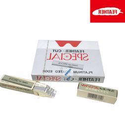 Feather-Cut Special x 10-120 Razor Blades Hair Trim Thin Sha