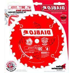 "Diablo D0620X 6"" 20T Diablo™ Porter Cable Saw Boss Blade"