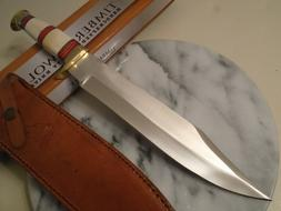 Timber Wolf Desert Canyon Bone Hunter Bowie Knife Full Tang