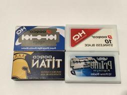 Dorco 40 Double Edge Razor Blades ST-300 ST-301 Prime Titan