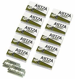 ASTRA Double Edge Blades Superior Platinum Green For Safety