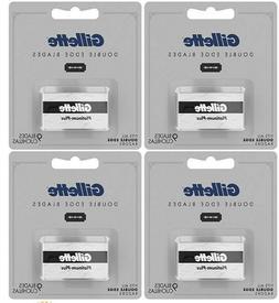 Gillette Double Edge Platinum Plus Men's Razor Blade 9 ea