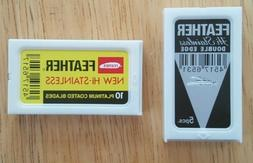 Feather Duo  Double Edge Safety Razor Blades Japan