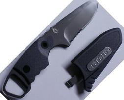 Gerber Epic Fixed Blade Serrated w/ Sheath 30-000176