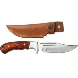 Elk Ridge ER-052 Fixed Blade Hunting Knife, Straight Edge Bl