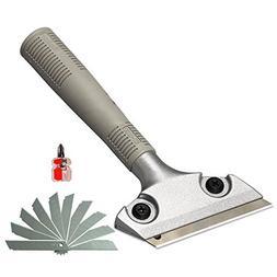 extendable razor blade sticker scraper