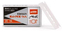 Feather FHS-10 Single Edge Razor Blades  - New Free Shipping