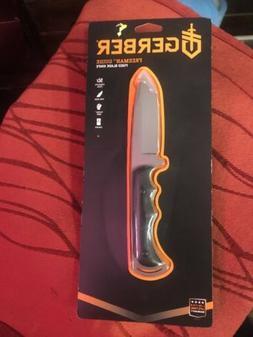 Gerber Freeman Guide, Drop Point Fixed Blade Knife Fine Edge