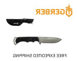 Gerber Freeman Guide Fixed Blade Knife, Fine Edge, Drop Poin