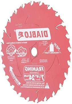 Freud D0724A Diablo 7-1/4-Inch 24 Tooth ATB Framing Saw Blad