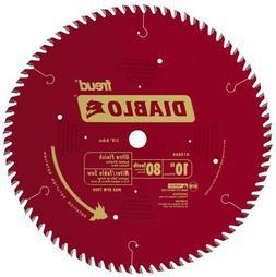 "Freud D1080X Diablo 10"" x 80-Tooth Ultra Fine Finishing Circ"