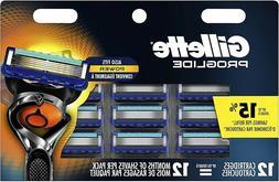 Gillette Fusion 5 ProGlide Men's Razor Blades Also Fits Powe