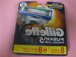 fusion 5 proglide razor refill blades 8
