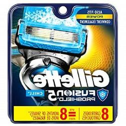 Fusion 5 Proshield Chill Men Razor Blade Refills 8 Count Fac