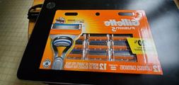 Gillette Fusion 5 Razor Blades 12 Replacement Cartridges Bla