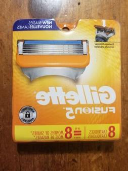 Gillette FUSION 5 Razor Blades 8 - Pack Cartridges Fits FUSI