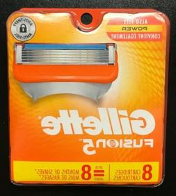 Gillette Fusion 5 Refill Razor Blades 8 Cartridges DAMAGED B