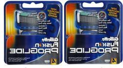 Gillette Fusion ProGlide Manual Men's Razor Blade Refills, 8