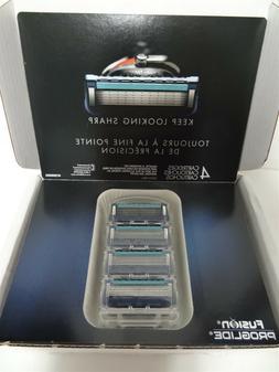Gillette Fusion ProGlide Manual Men's Razor Blade Refills, 4